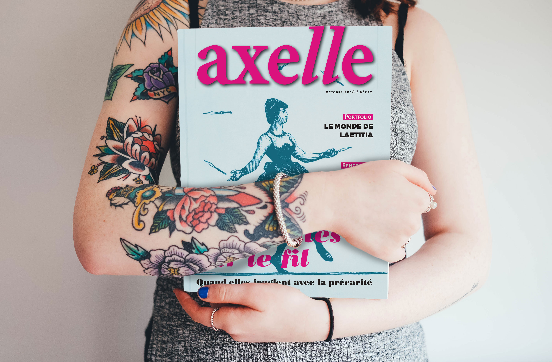 Magazine féministe Axelle
