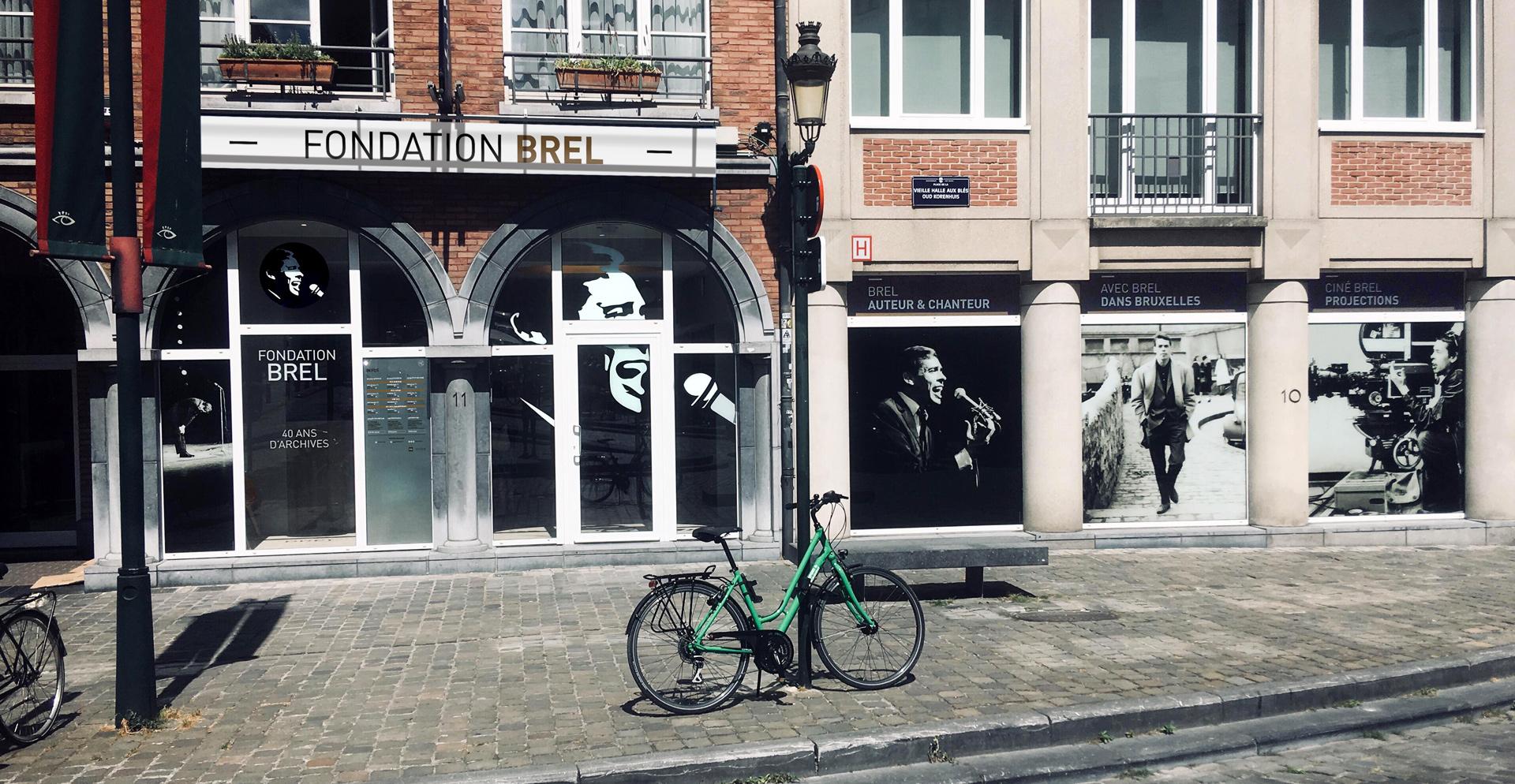 Façade de la Fondation Brel