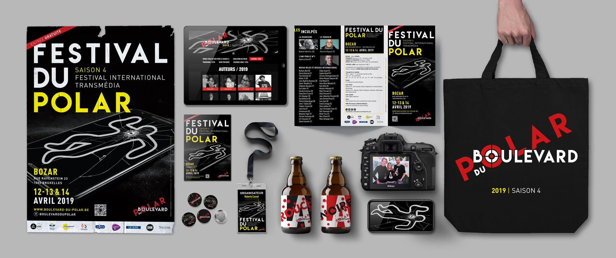 Festival du Polar 2019 - Branding