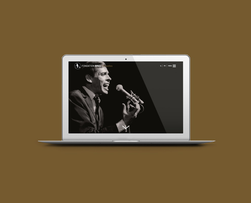 Fondation Brel website responsive
