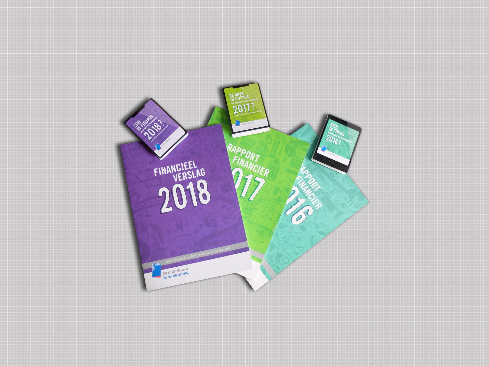 STIB Rapport annuel des années 2016-2017-2018