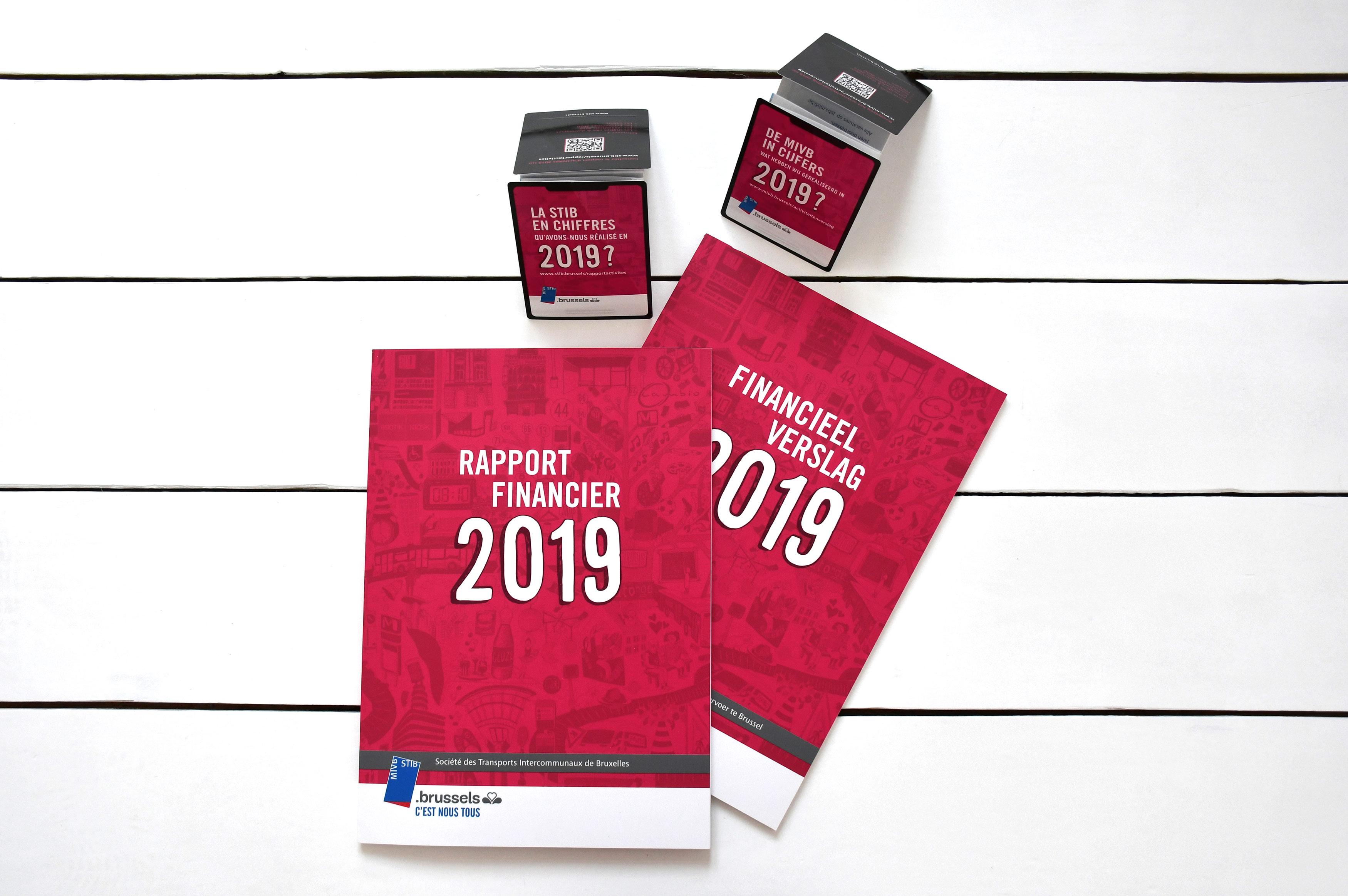STIB // Rapport d'activités 2019 / Z-card