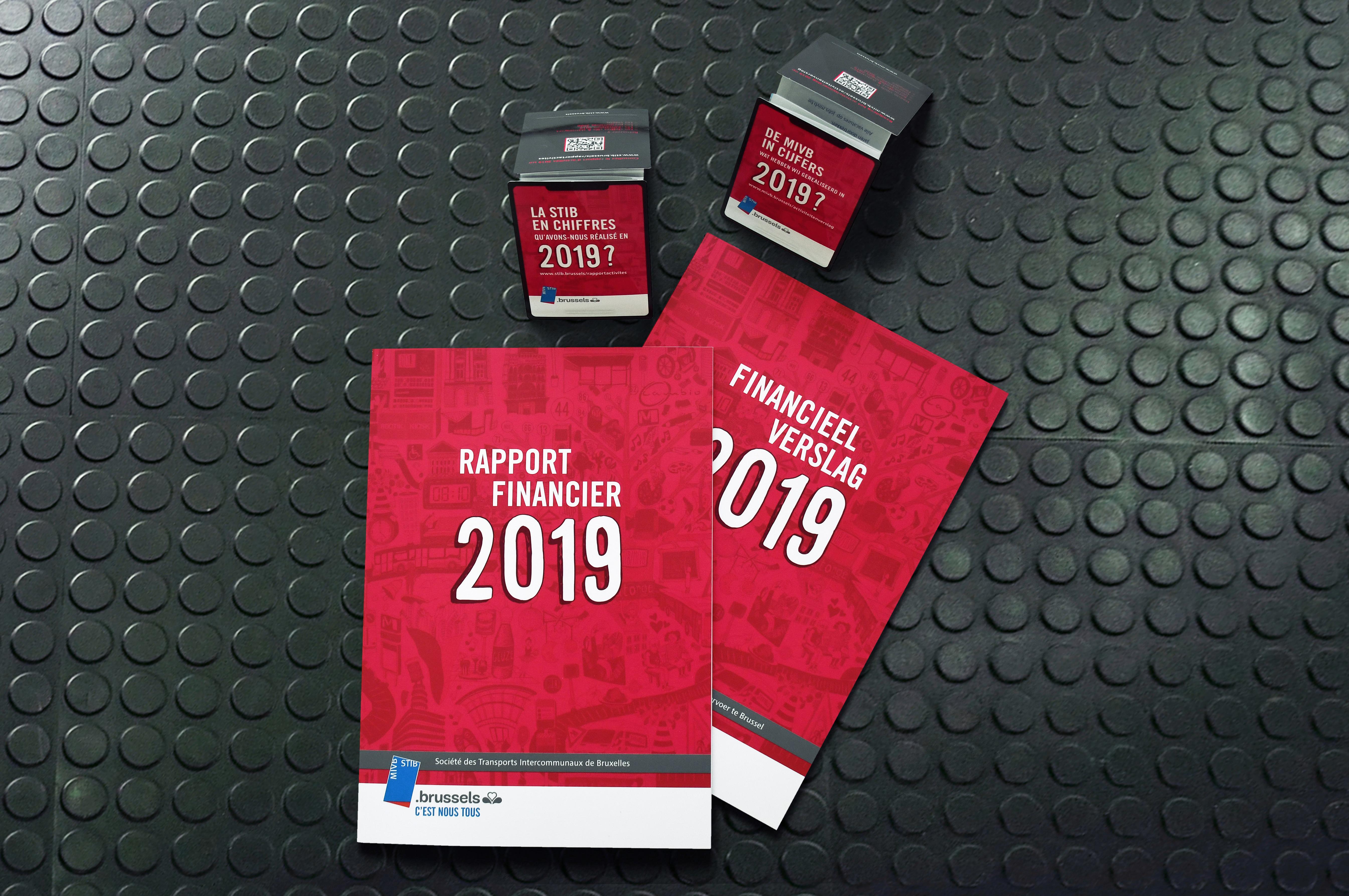 STIB Rapport annuel 2019