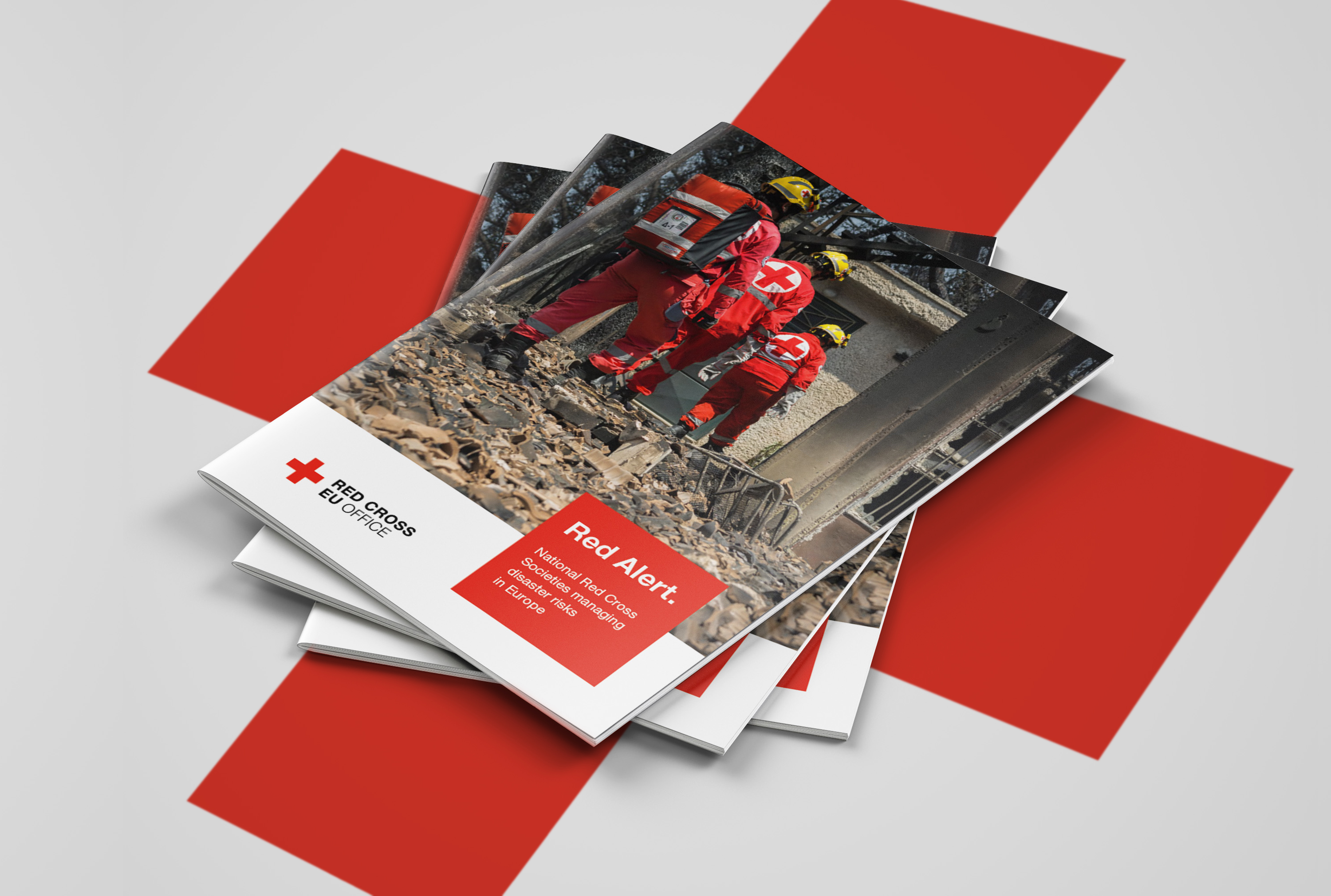 Red Cross Brochure design
